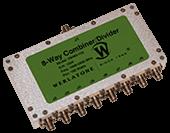 8-Way RF Combiner/Divider