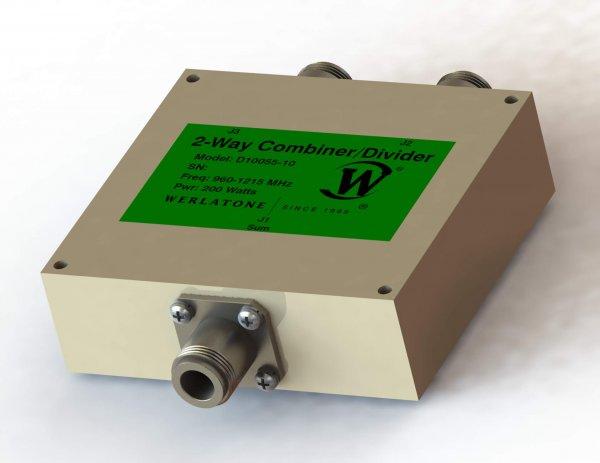 RF Combiner - Model D10055 - 2-Way Combiner/Divider