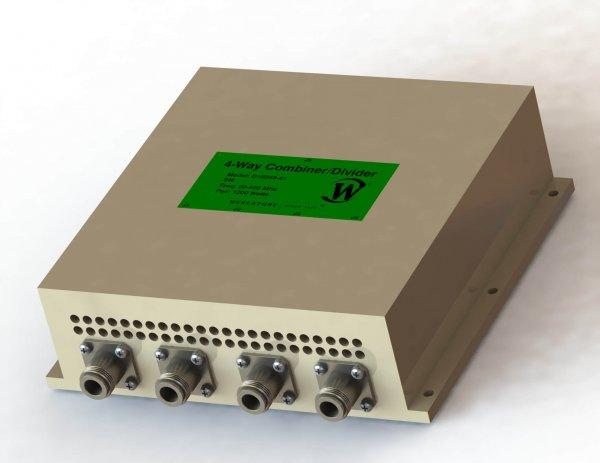 RF Combiner - Model D10348 - 4-Way Combiner/Divider