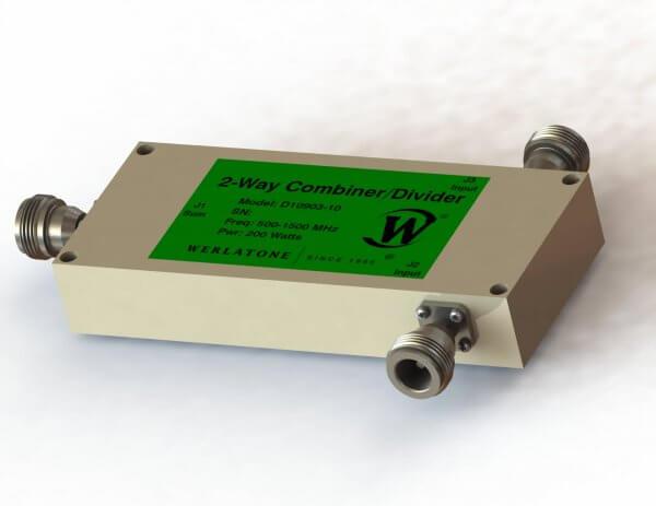 RF Combiner - Model D10903 - 2-Way Combiner/Divider