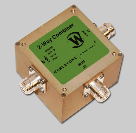 RF Combiner - Model D2551 - 2-Way Combiner/Divider