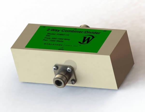 RF Combiner - Model D3897 - 2-Way Combiner/Divider