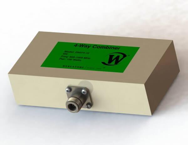 RF Combiner - Model D5074 - 4-Way Combiner/Divider