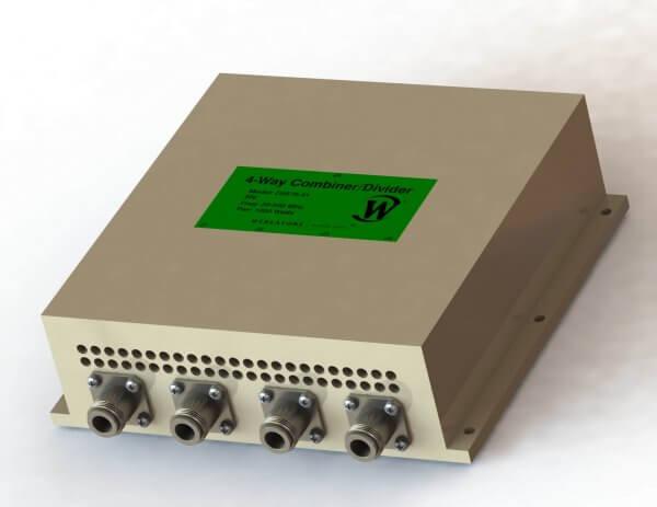 RF Combiner - Model D5575 - 4-Way Combiner/Divider