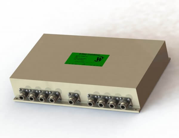RF Combiner - Model D5829 - 8-Way Combiner/Divider
