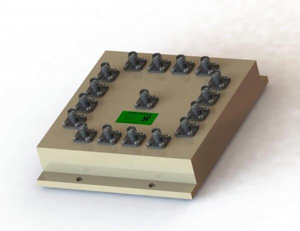 RF Combiner - Model D6310 - 16-Way Combiner/Divider