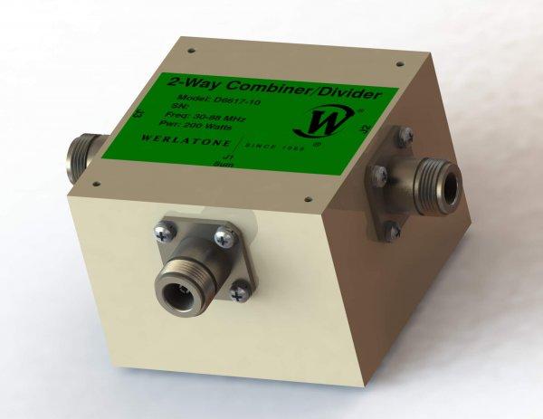 RF Combiner - Model D6617 - 2-Way Combiner/Divider