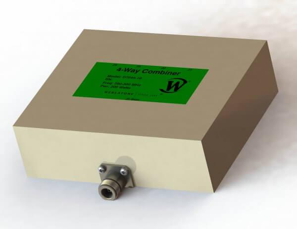 RF Combiner - Model D7044 - 4-Way Combiner/Divider