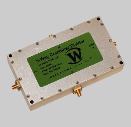 3-Way RF Combiner/Divider