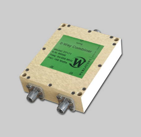 RF Combiner - Model D7171 - 2-Way Combiner/Divider