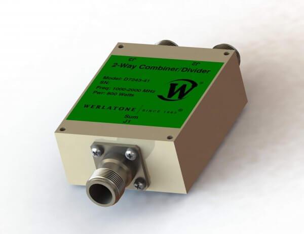 RF Combiner - Model D7243 - 2-Way Combiner/Divider