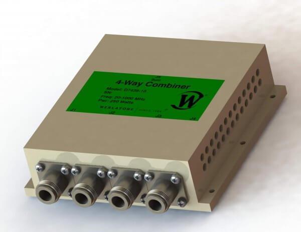 RF Combiner - Model D7439 - 4-Way Combiner/Divider