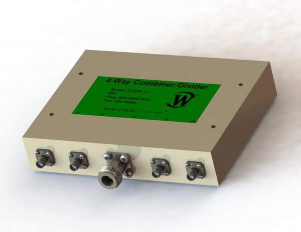 RF Combiner - Model D7539 - 4-Way Combiner/Divider