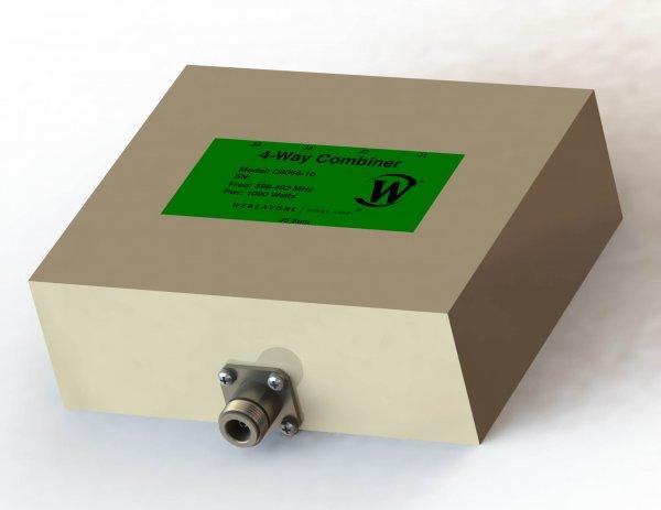RF Combiner - Model D8066 - 4-Way Combiner/Divider