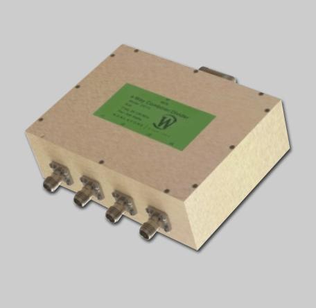 RF Combiner - Model D8110 - 4-Way Combiner/Divider