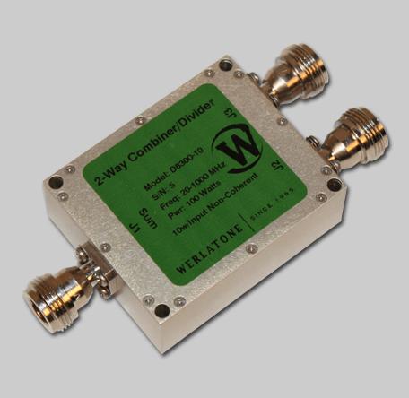 RF Combiner - Model D8300 - 2-Way Combiner/Divider