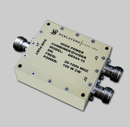 RF Combiner - Model D8544W - 2-Way Combiner/Divider