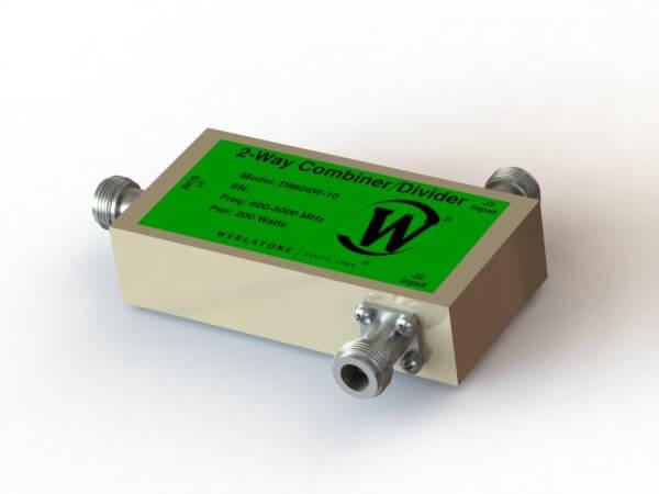 RF Combiner - Model D8606W - 2-Way Combiner/Divider