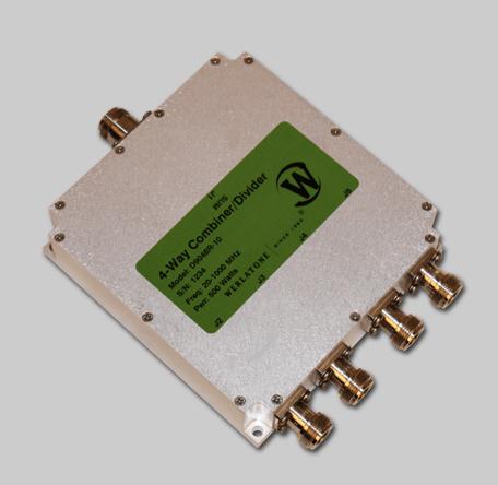 RF Combiner - Model D9048 - 4-Way Combiner/Divider