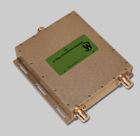 RF Combiner - Model D10249 - 2-Way Combiner/Divider