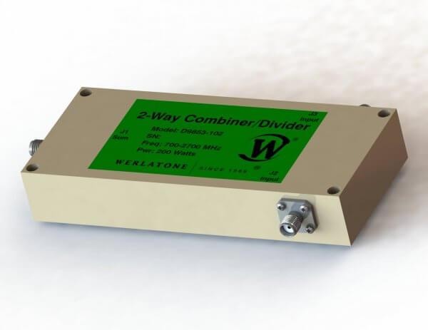 RF Combiner - Model D9853 - 2-Way Combiner/Divider