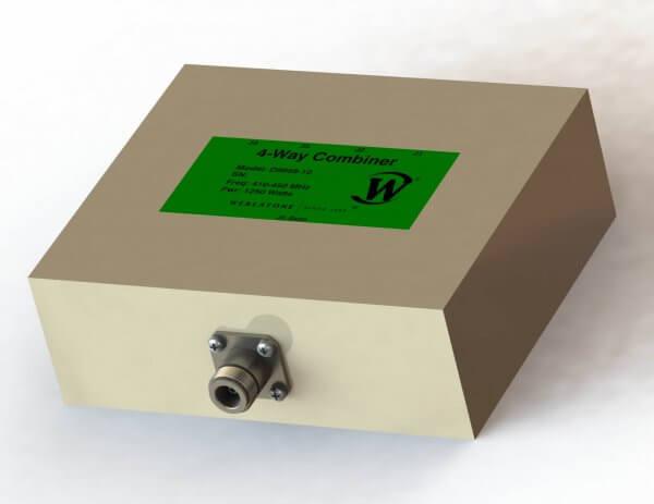 RF Combiner - Model D9958 - 4-Way Combiner/Divider