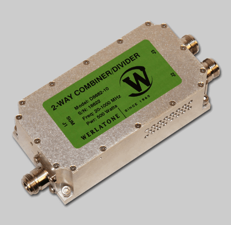 RF Combiner - Model D8682 - 2-Way Combiner/Divider